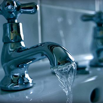 water tap stuck open